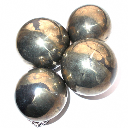 Pyrite Crystal Fortune Telling Ball 45mm